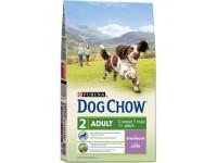 Dog Chow Adult сухой корм для взрослых собак с ягнёнком, 2,5 кг