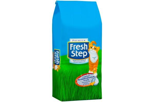 Наполнитель Fresh Step, тройной контроль запаха, 6,35 кг