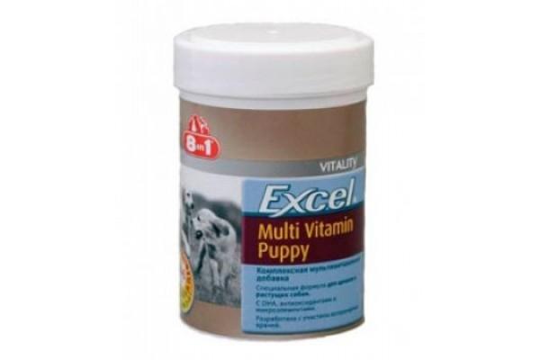 8in1 Excel Multi Vitamin Puppy - Мультивитамины для щенков, 100 таблеток