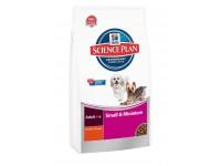 Science Plan Canine Adult Small & Miniature Chicken & Turkey - сухой корм для собак мелких и миниатюрных пород, со вкусом курицы, 1,5 кг (2821ТSP)