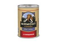Мамонт Стандарт Говядина  для собак, 970 г