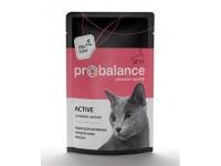 ProBalance Active для взрослых кошек всех пород, ведущих активный образ жизни, 85 г