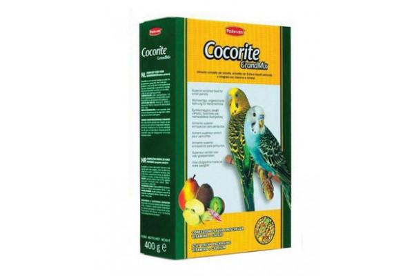 Padovan Grandmix Cocorite основной корм Падован для волнистых попугаев, 400 г