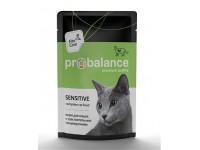 ProBalance Sensitive для взрослых кошек всех пород с чувствительным пищеварением, 85 г