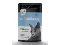 ProBalance Sterilized для кастрированных и стерилизованных котов и кошек всех пород, 85 г