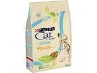 Cat Сhow Kitten сухой корм для котят с высоким содержанием домашней птицы, 1,5 кг