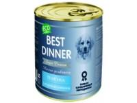 Best Dinner Мясные деликатесы Телятина для щенков и юниоров, 340 г (банка)