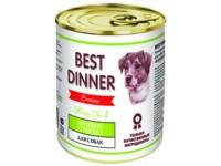 Best Dinner Menu Dog №5 Ягненок с рисом для собак, 340 г (банка)