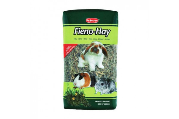 Padovan Fieno-hay сено Падован для грызунов из смешаных луговых трав 20 л, 1 кг