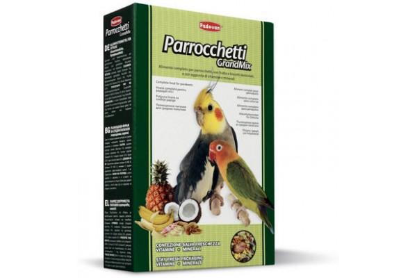 Padovan Parrochetti GrandMix основной корм Падован для средних попугаев, 400 г