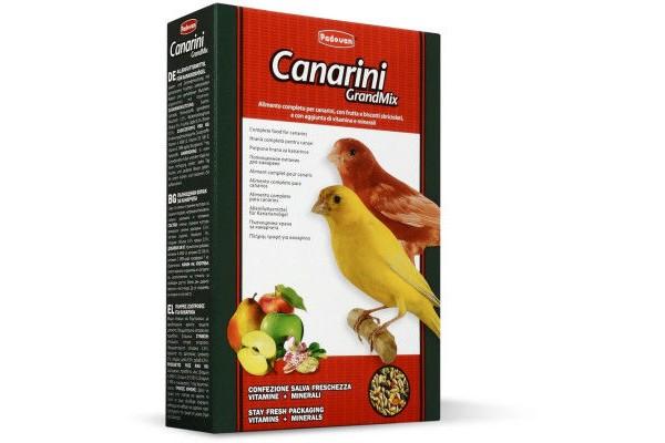 Padovan Grandmix Canarini основной корм Падован для канареек, 400 г
