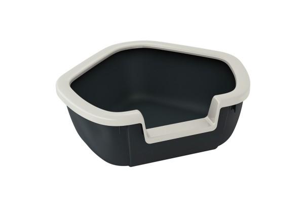 Угловой туалет для кошек DAMA, 57,5 x 51,5 x h 22 cm