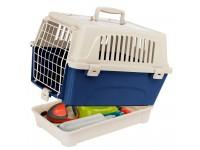 Переноска для кошек и мелких собак с отделением для аксессуаров ATLAS 10 OPEN ORGANIZER, 47,6 x 33,2 x h 33,6 cm