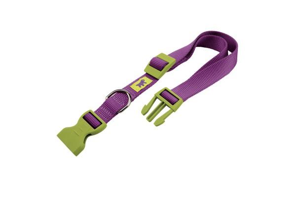 Ошейник нейлоновый для собак CLUB C10/32 COLOURS фиалковый, A: 23÷32 cm - B: 10 mm - C10/32