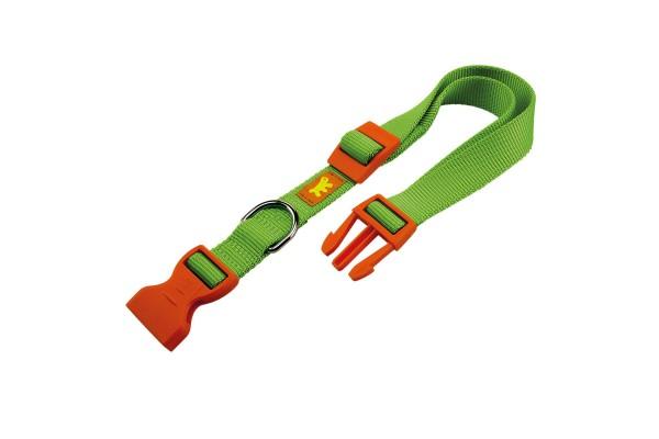 Ошейник нейлоновый для собак CLUB C10/32 COLOURS зелёный, A: 23÷32 cm - B: 10 mm - C10/32