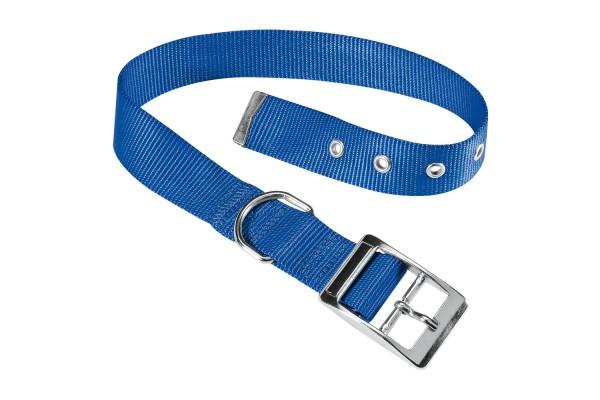 Ошейник нейлоновый для собак CLUB CF15/35 синий, A: 27÷35 cm - B: 15 mm - CF15/35