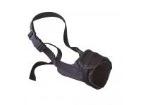 Регулируемый намордник с мягкой подкладкой для собак SAFE SMALL, A: 30÷55 cm - B: 14÷20 cm - C: 9,5 cm
