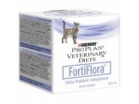 Пребиотическая добавка для кошек Purina Pro Plan Veterinary Diets FortiFlora для поддержания баланса микрофлоры и здоровья кишечника, 1 г (пакет)