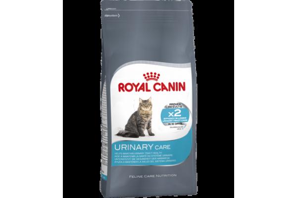 Сухой корм для взрослых кошек в целях профилактики мочекаменной болезни Royal Canin Urinary Care, 0,4 кг