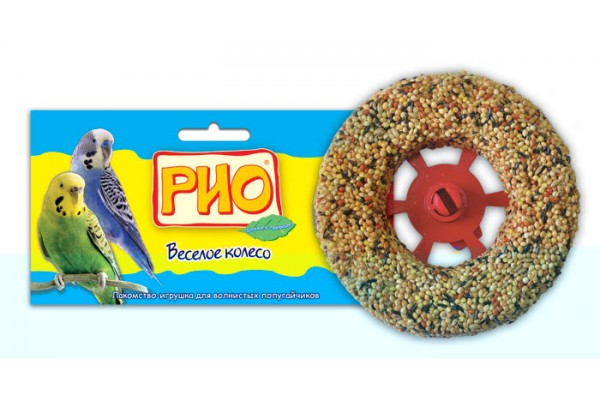 """Лакомство-игрушка """"Rio"""" Зерновое колесо для волнистых попугаев"""