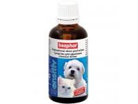 Лосьон Beaphar Sensitiv для удаления слезных пятен у кошек и собак, 50 мл