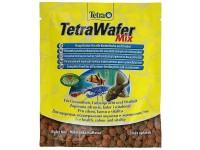 Корм для травоядных, хищных и донных рыб Tetra Wafer Mix, 15 г (пластинки)