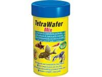 Корм для травоядных, хищных и донных рыб Tetra Wafer Mix, 100 мл (пластинки)