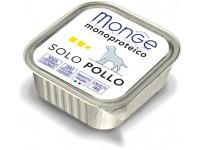 Monge Dog Monoproteico Solo монобелковый паштет для собак из курицы, 150 г