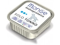 Monge Dog Monoproteico Solo монобелковый паштет для собак из тунца, 150 г