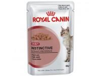 Влажный корм для кошек старше 1 года Instinctive (в соусе), 85 гр