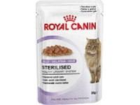 Влажный корм для стерилизованных кошек Sterilised (в желе), 85 гр