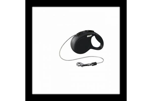 Поводок-рулетка для кошек до 8 кг, 3 м, Flexi New Classic CAT cord XS 3m 8 kg