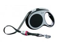 Поводок-рулетка для собак до 60 кг, 5 м, антрацит, Flexi Vario tape L 5m 60 kg anthracite