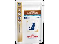 Диета для кошек при нарушении пищеварения Gastro Intestinal Moderate Calorie, 100 гр