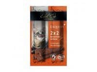 Edel Cat Колбаски-мини деликатесные с телятиной и ливерной колбасой, 4 шт