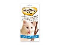 Мнямс лакомые палочки для кошек лосось+форель, 1 шт