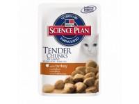 Hill's Science Plan Feline Adult Turkey - консервированный корм для кошек со вкусом индейки, 85 г (2107РТ)