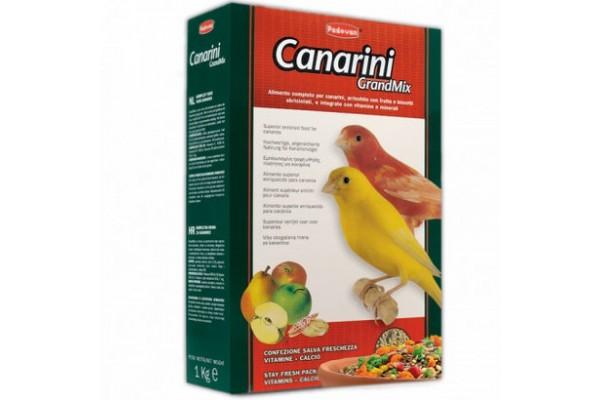 Padovan Grandmix Canarini основной корм Падован для канареек, 1 кг