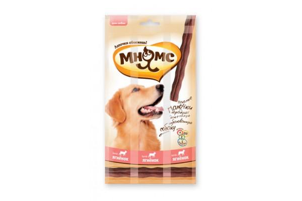 Мнямс лакомые палочки для собак с ягненком, 45 г (3 х 15 г)
