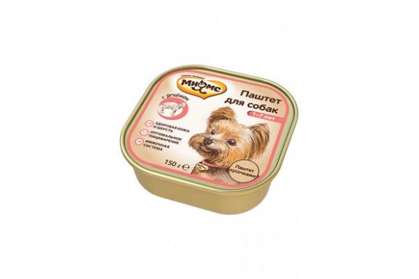 Мнямс консервы для собак с ягненком, 150 г (паштет)