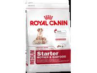 Корм для щенков до 2-х месяцев, беременных и кормящих сук Medium Starter, 4 кг