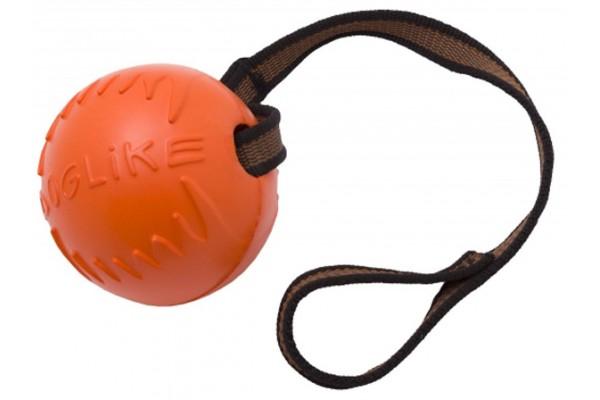 ДогЛайк Мяч д/собак с лентой Большой / DM-7346