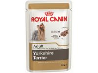 Влажный корм для собак породы йоркширский терьер в возрасте с 10 месяцев Royal Canin Yorkshire Terrier Adult (паштет), 85 гр