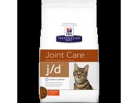 Hill's Prescription Diet Feline J/D - корм для кошек лечение заболеваний суставов, 2 кг (6135M)