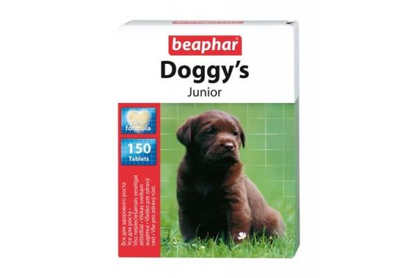 Витамины для щенков Beaphar Doggy's Junior, 150 табл.