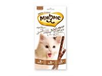 Мнямс лакомые палочки для кошек индейка+ягненок, 1 шт