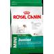 Сухой корм для щенков мелких пород с 2 до 10 месяцев Royal Canin Mini Junior, 0,5+0,3 кг