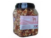 Грин Кьюзин (Green Qzin) лакомство для собак ГРАЦИЯ (сушеное куриное мясо на яблоке), 750 г