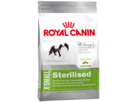 Корм для кастрированных или стерилизованных собак от 10 месяцев X-Small Sterilised, 1,5 кг