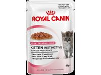 Влажный корм для котят от 4 до 12 месяцев Royal Canin Kitten Instinctive (в желе), 85 гр (пауч)